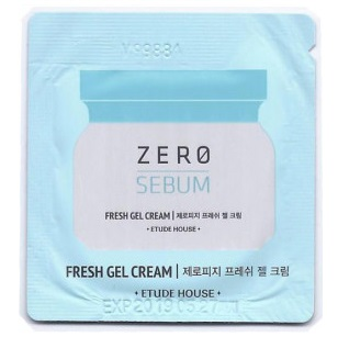 Пробник<br /> ETUDE HOUSE Zero Sebum Fresh Gel Cream