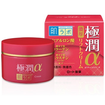Гиалуроновый лифтинг-крем <br /> HADA LABO Gokujyun Alpha Moist Lift Cream