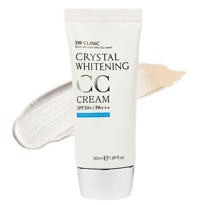3W Clinic Crystal Whitening<br /> CC Cream SPF50