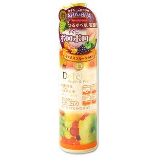 Пилинг-гель с эффектом легкого скатывания<br />MEISHOKU Detclear AHA&BHA Fruits Peeling Jelly