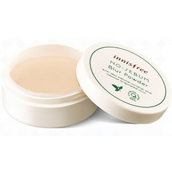 ���������� ����������� ����� <br />INNISFREE No Sebum Blur Powder