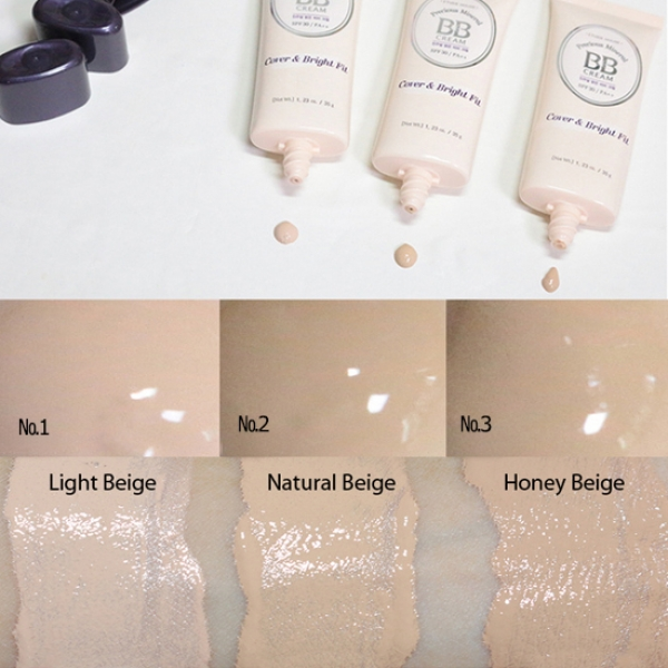 ETUDE HOUSE Precious Mineral <br />BB Cover & Bright Fit SPF30