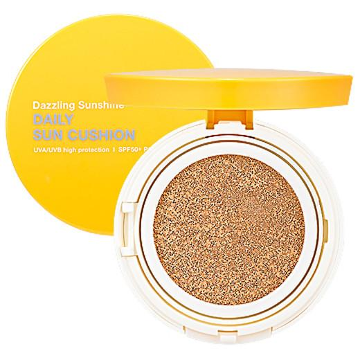 HOLIKA HOLIKA Dazzling<br /> Sunshine Daily Sun Cushion<br /> SPF50+ PA+++<br /> (+запаска)