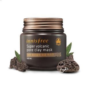 Маска очищающая<br /> INNISFREE Super Volcanic Pore Clay Mask<br /> 100 мл
