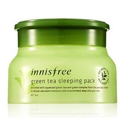 Маска ночная с зеленым чаем <br />INNISFREE Green Tea Sleeping Pack