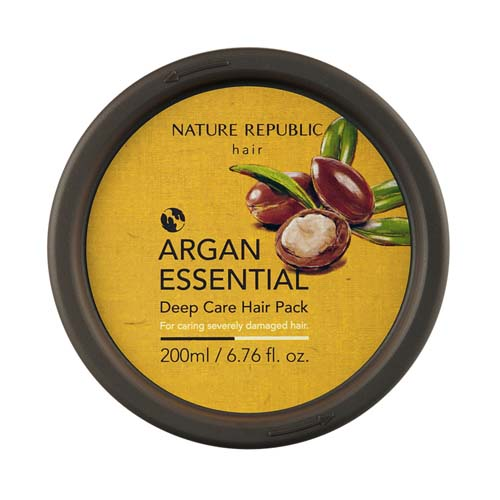 Маска для волос восстанавливающая<br /> NATURE REPUBLIC Argan Essencial Deep Care Hair Pack
