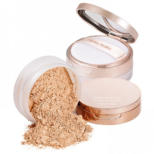 Рассыпчатая пудра-основа<br /> HOLIKA HOLIKA Naked Face Foundation Powder SPF26