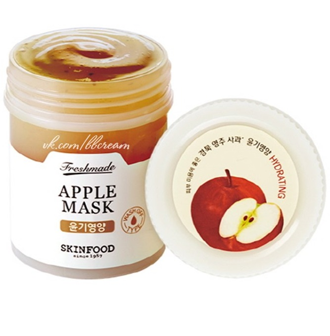 ����� ����������� ��������<br /> SKINFOOD Freshmade Apple Mask