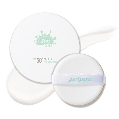 PERIPERA No Sebum Milk Sun Cushion<br /> SPF50+ PA++++