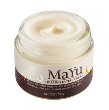 Крем восстанавливающий с конским жиром<br /> SECRET KEY Mayu Healing Facial Cream