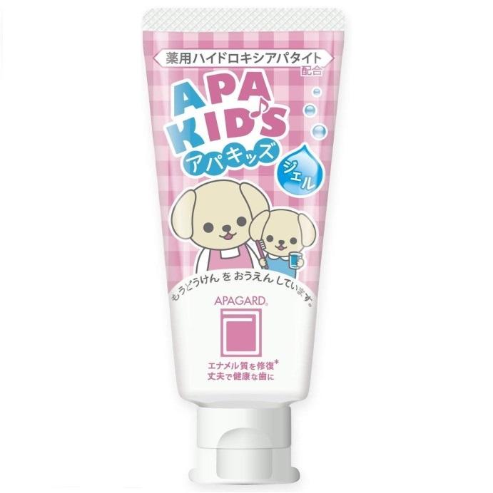 Зубная паста детская с наногидроксиапатитом <br />APAGARD Apa Kids Gel