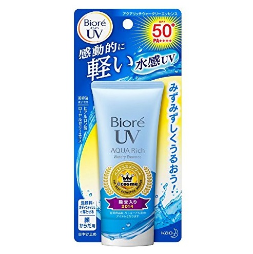 BIORE UV Aqua Rich Watery Essence <br />SPF50+ PA++++