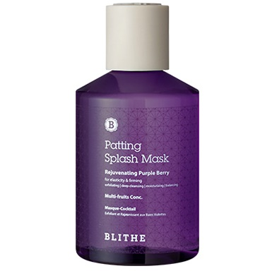 —плэш-маска омолаживающа¤<br /> BLITHE Patting Splash Mask Rejuvenating Purple Berry