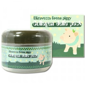 Маска коллагеновая <br /> ELIZAVECCA Green Piggy Collagen Jella Pack