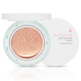 HOLIKA HOLIKA Puri Pore<br /> Pink Powder Cushion<br /> SPF50+ PA+++