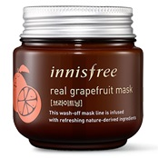 Маска-скраб очищающая<br />INNISFREE Real Grapefruit Mask
