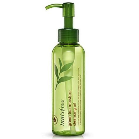 Гидрофильное очищающее масло <br /> INNISFREE Green Tea Moisture Cleansing Oil