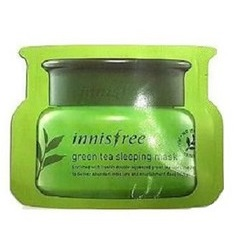 Пробник<br /> INNISFREE Green Tea Sleeping Mask