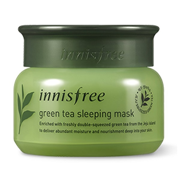 Маска ночная с зеленым чаем <br />INNISFREE Green Tea Sleeping Mask