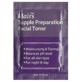 Пробник<br /> KLAIRS Supple Preparation Facial Toner