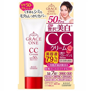 KOSE Grace One<br /> CC Cream SPF50+ PA++++