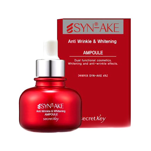 "Сыворотка со ""змеиным ядом"" <br />SECRET KEY Syn-Ake Anti Wrinkle & Whitening Ampoule"