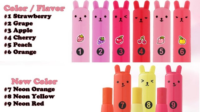 Помада-бальзам для губ <br />TONY MOLY Petite Bunny Lip Gloss Bar