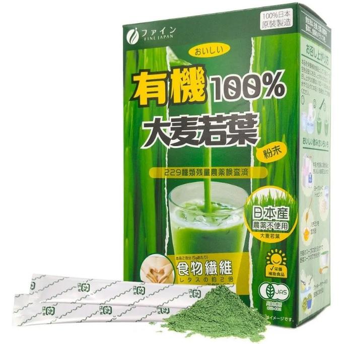 јодзиру из ¤чмен¤ <br /> FINE Aojiru Organic Young Barley Grass