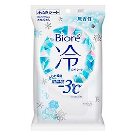 Салфетки дезодорирующие охлаждающие<br /> BIORE Cool Body Sheets