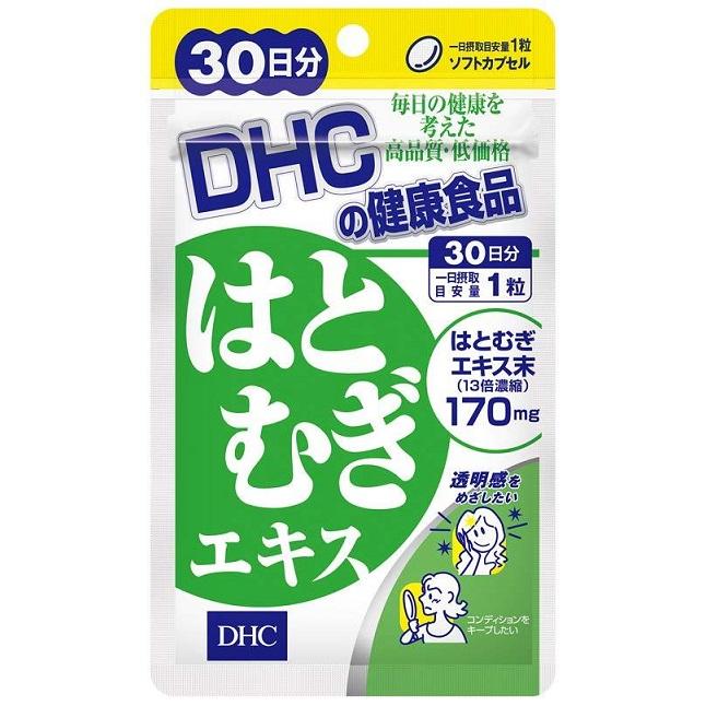 Комплекс для красоты (экстракт бусенника + витамин Е)<br /> DHC Hatomugi