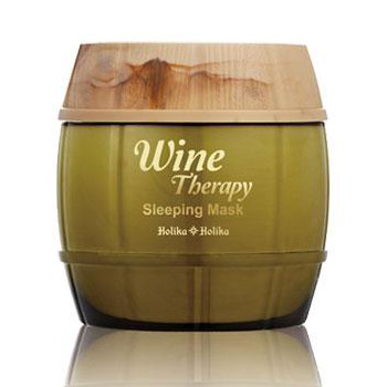 Маска ночная обновляющая <br />HOLIKA HOLIKA Wine Therapy Sleeping Mask<br /> WHITE WINE