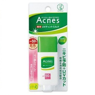 MENTHOLATUM ACNES Medicated UV <br /> Tinted Milk SPF50+ PA++