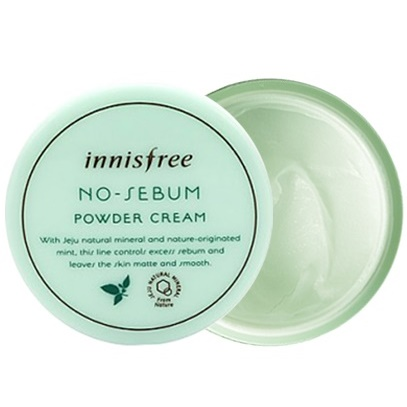 Крем матирующий<br /> Innisfree No-Sebum Powder Cream