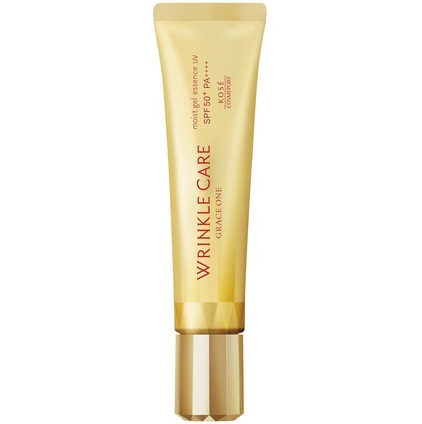 Гель-эссенция для возрастной кожи от морщин <br /> KOSE Grace One Wrinkle Care Moist Gel Essence UV SPF 50+ PA++++