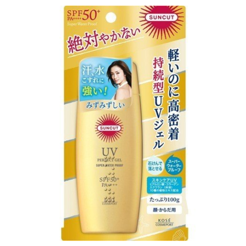KOSE SUNCUT UV Perfect Gel<br /> SPF50+ PA++++