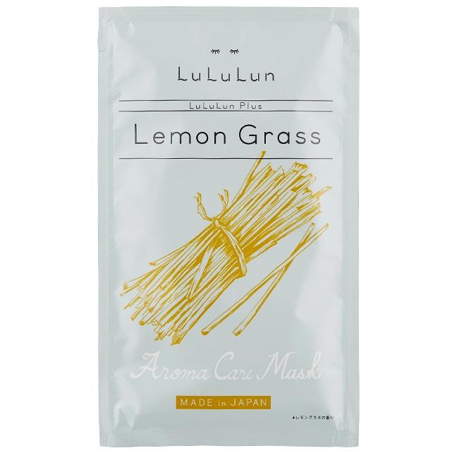ћаска тонизирующа¤ одноразова¤<br /> LULULUN Plus Lemon Grass Aroma Oil Mask