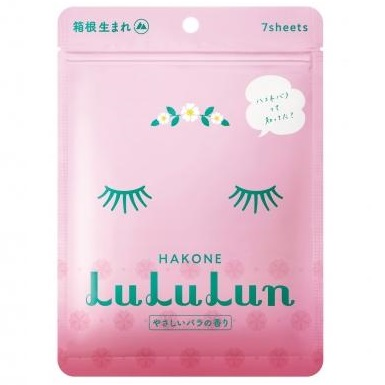 Маски увлажняющие восстанавливающие одноразовые<br /> LULULUN Hakone Rose