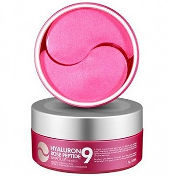 Маска (патчи) для кожи под глазами <br />MEDI-PEEL Hyaluron Rose Peptide 9 Ampoule Eye Patch