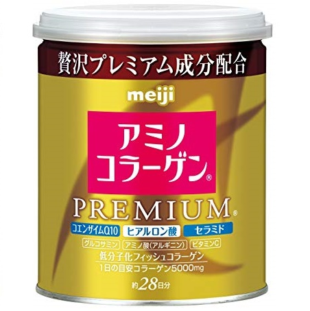 Коллаген+гиалуроновая кислота+Q10<br /> MEIJI Amino Collagen Premium<br /> на 28 дней