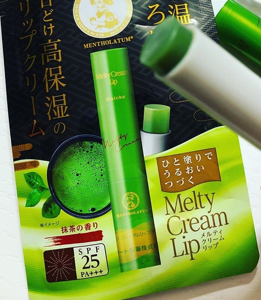 Бальзам для губ<br /> MENTHOLATUM Melty Cream Lip Matcha SPF25