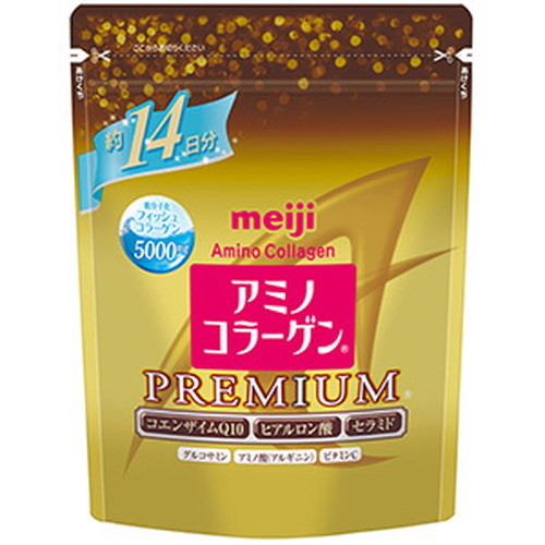 Коллаген+гиалуроновая кислота+Q10<br /> MEIJI Amino Collagen Premium<br /> на 14 дней