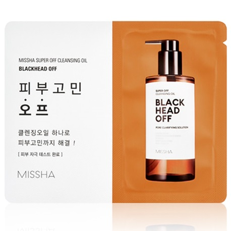 Пробник<br /> MISSHA Super Off Cleansing Oil Blackhead Off