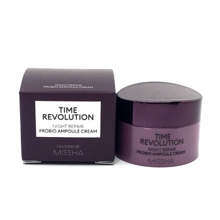 Крем ночной омолаживающий<br /> MISSHA Time Revolution Night Repair Probio Ampoule Cream<br /> 7 мл