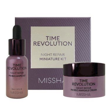 Набор омолаживающих средств <br />MISSHA Time Revolution Night Repair Probio Miniature Kit