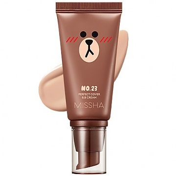 Missha Perfect Cover BB Cream<br /> SPF42 Line Friends Edition
