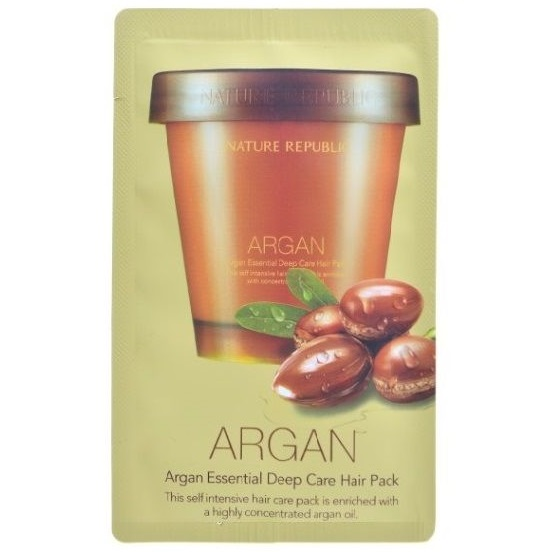 Пробник<br /> NATURE REPUBLIC Argan Essencial Deep Care Hair Pack