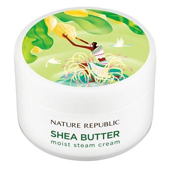 Крем паровой увлажняющий <br />NATURE REPUBLIC Shea Butter Moist Steam Cream