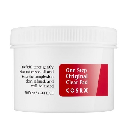 Пилинг-диски с BHA-кислотами <br />COSRX One Step Original Clear Pad