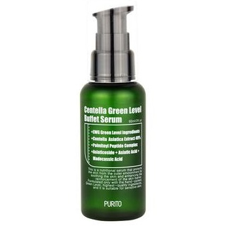 Сыворотка с центеллой и пептидами<br /> PURITO Centella Green Level Buffet Serum
