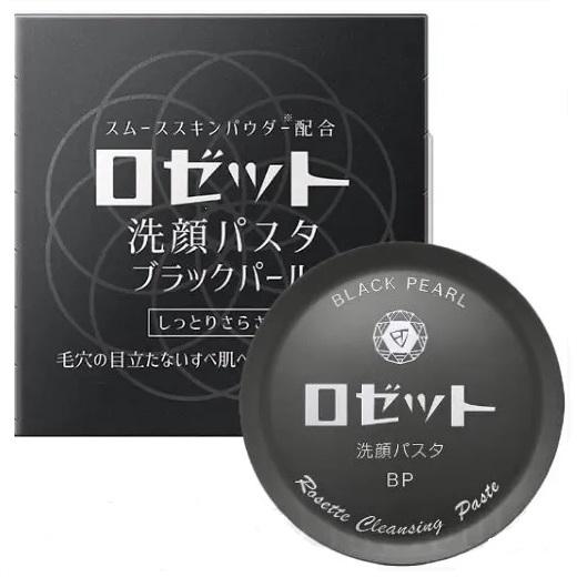 ѕаста очищающа¤ сужающа¤ поры <br />ROSETTE Cleansing Paste Black Pearl